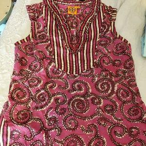 Tory Burch cotton sleeveless top